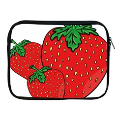 Strawberry Holidays Fragaria Vesca Apple Ipad 2/3/4 Zipper Cases
