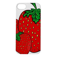 Strawberry Holidays Fragaria Vesca Apple Iphone 5s/ Se Hardshell Case