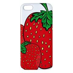 Strawberry Holidays Fragaria Vesca Iphone 5s/ Se Premium Hardshell Case