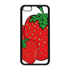 Strawberry Holidays Fragaria Vesca Apple Iphone 5c Seamless Case (black)