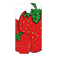 Strawberry Holidays Fragaria Vesca Samsung Galaxy Note 3 N9005 Hardshell Back Case