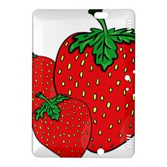 Strawberry Holidays Fragaria Vesca Kindle Fire Hdx 8 9  Hardshell Case