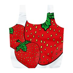 Strawberry Holidays Fragaria Vesca Full Print Recycle Bags (L)