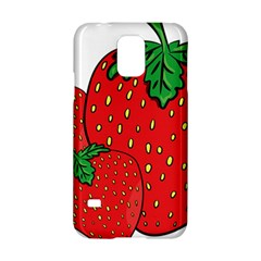 Strawberry Holidays Fragaria Vesca Samsung Galaxy S5 Hardshell Case