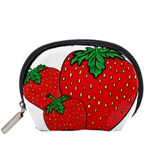 Strawberry Holidays Fragaria Vesca Accessory Pouches (small)