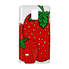 Strawberry Holidays Fragaria Vesca Samsung Galaxy Note 4 Hardshell Case