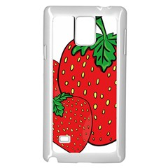 Strawberry Holidays Fragaria Vesca Samsung Galaxy Note 4 Case (white)