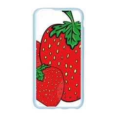 Strawberry Holidays Fragaria Vesca Apple Seamless iPhone 6/6S Case (Color)