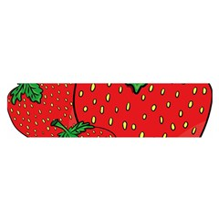 Strawberry Holidays Fragaria Vesca Satin Scarf (oblong)