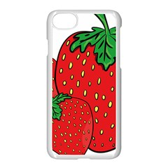 Strawberry Holidays Fragaria Vesca Apple Iphone 7 Seamless Case (white)