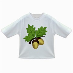 Acorn Hazelnuts Nature Forest Infant/toddler T Shirts