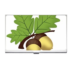 Acorn Hazelnuts Nature Forest Business Card Holders
