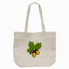 Acorn Hazelnuts Nature Forest Tote Bag (cream)