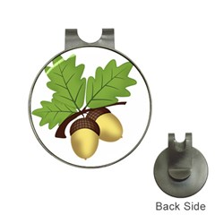 Acorn Hazelnuts Nature Forest Hat Clips With Golf Markers