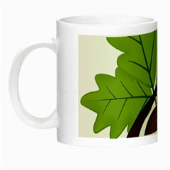 Acorn Hazelnuts Nature Forest Night Luminous Mugs