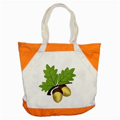 Acorn Hazelnuts Nature Forest Accent Tote Bag