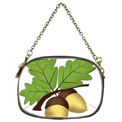 Acorn Hazelnuts Nature Forest Chain Purses (One Side)