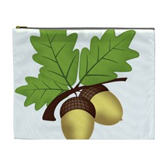 Acorn Hazelnuts Nature Forest Cosmetic Bag (XL)
