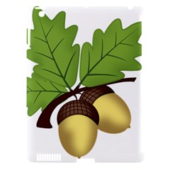 Acorn Hazelnuts Nature Forest Apple Ipad 3/4 Hardshell Case (compatible With Smart Cover)