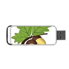 Acorn Hazelnuts Nature Forest Portable USB Flash (Two Sides)