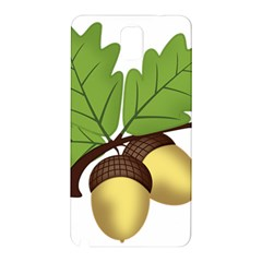 Acorn Hazelnuts Nature Forest Samsung Galaxy Note 3 N9005 Hardshell Back Case