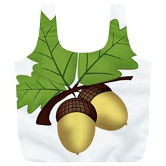 Acorn Hazelnuts Nature Forest Full Print Recycle Bags (l)