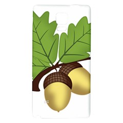 Acorn Hazelnuts Nature Forest Galaxy Note 4 Back Case