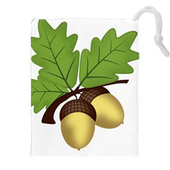 Acorn Hazelnuts Nature Forest Drawstring Pouches (xxl)