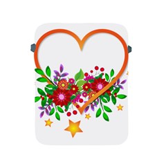 Heart Flowers Sign Apple Ipad 2/3/4 Protective Soft Cases