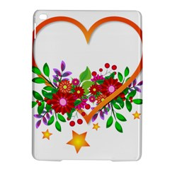 Heart Flowers Sign Ipad Air 2 Hardshell Cases