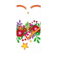Heart Flowers Sign Samsung Galaxy Alpha Hardshell Back Case