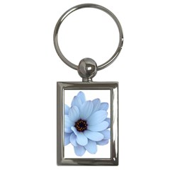Daisy Flower Floral Plant Summer Key Chains (rectangle)