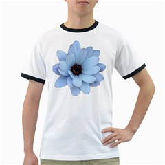 Daisy Flower Floral Plant Summer Ringer T Shirts