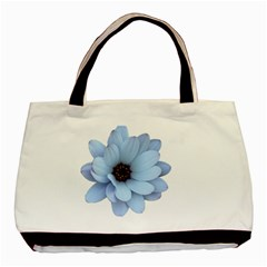 Daisy Flower Floral Plant Summer Basic Tote Bag (two Sides)