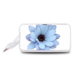 Daisy Flower Floral Plant Summer Portable Speaker (White)