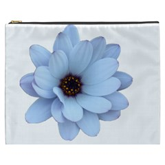 Daisy Flower Floral Plant Summer Cosmetic Bag (xxxl)