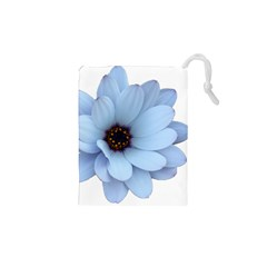 Daisy Flower Floral Plant Summer Drawstring Pouches (XS)