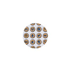 Social Media Icon Icons Social 1  Mini Magnets