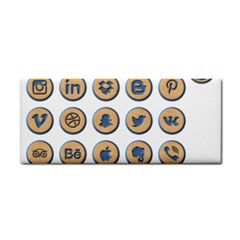 Social Media Icon Icons Social Cosmetic Storage Cases