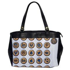 Social Media Icon Icons Social Office Handbags