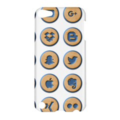 Social Media Icon Icons Social Apple Ipod Touch 5 Hardshell Case
