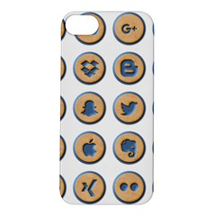 Social Media Icon Icons Social Apple iPhone 5S/ SE Hardshell Case