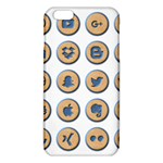 Social Media Icon Icons Social iPhone 6 Plus/6S Plus TPU Case Front