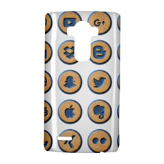 Social Media Icon Icons Social LG G4 Hardshell Case