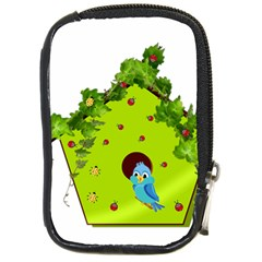 Bluebird Bird Birdhouse Avian Compact Camera Cases
