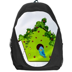 Bluebird Bird Birdhouse Avian Backpack Bag