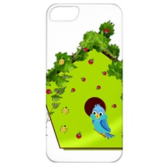 Bluebird Bird Birdhouse Avian Apple iPhone 5 Classic Hardshell Case