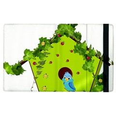 Bluebird Bird Birdhouse Avian Apple Ipad 2 Flip Case