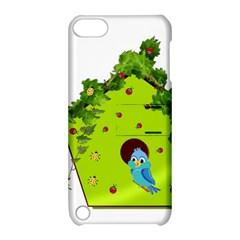 Bluebird Bird Birdhouse Avian Apple Ipod Touch 5 Hardshell Case With Stand