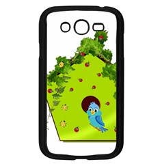 Bluebird Bird Birdhouse Avian Samsung Galaxy Grand Duos I9082 Case (black)